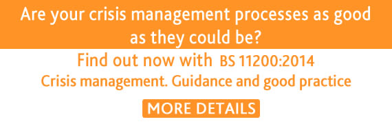 Crisis Management standard
